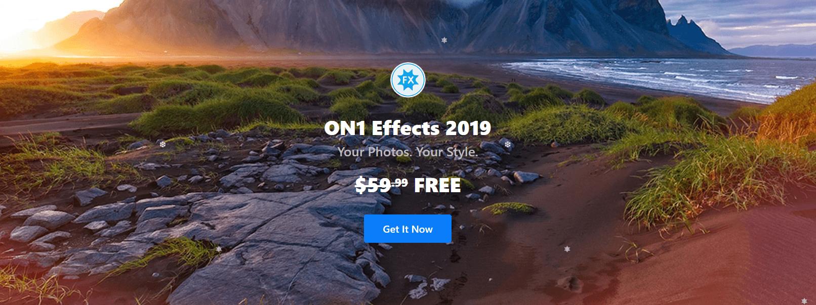 ON1 Effects 2019 | Program pentru editarea fotografiilor și pozelor (win&mac), acum gratuit 1