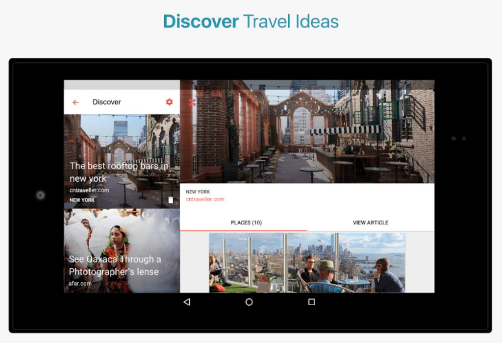 CityMaps2Go Android - descopera idei de calatorie