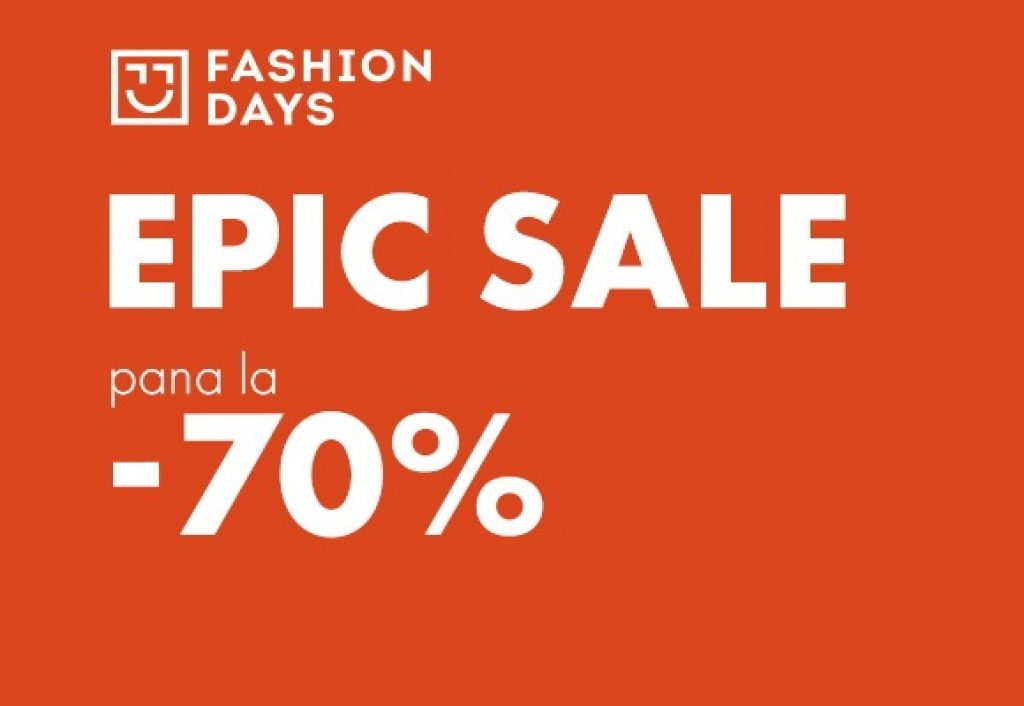 Epic Sale 70% reduceri Fashion Days