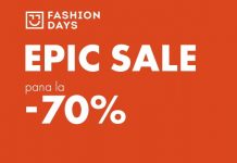 Epic Sale 70% reduceri Fashion Days