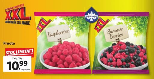 Lidl - Fructe congelate XXL