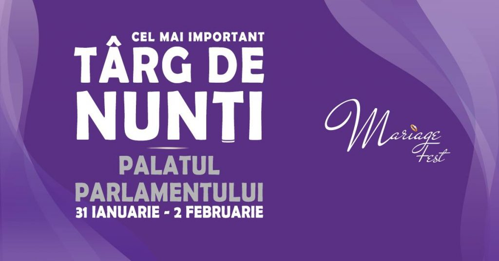 Palatul Parlamentului, București | Târg de Nunți in perioada 31 Ianuarie - 2 Februarie 1