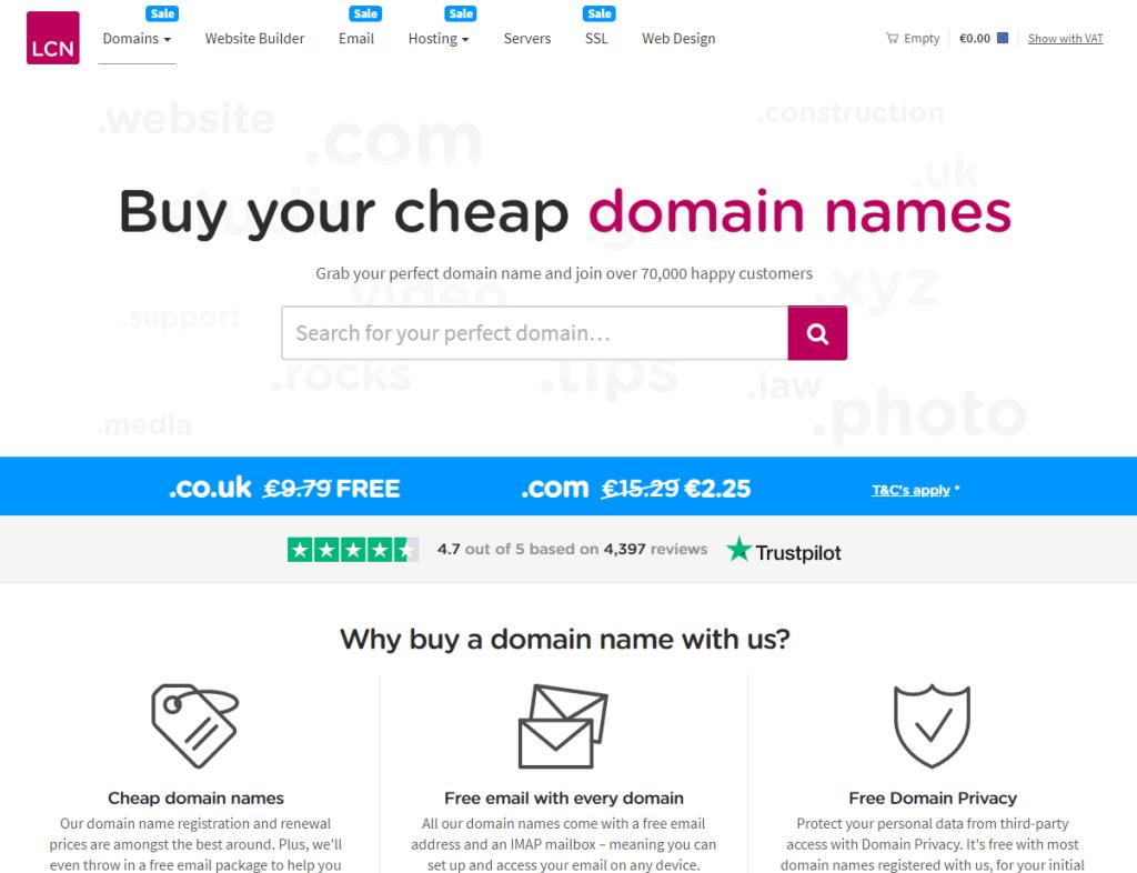 domenii co.uk gratuit