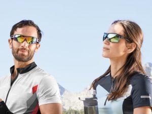 Ochelari sport, cu lentile interschimbabile