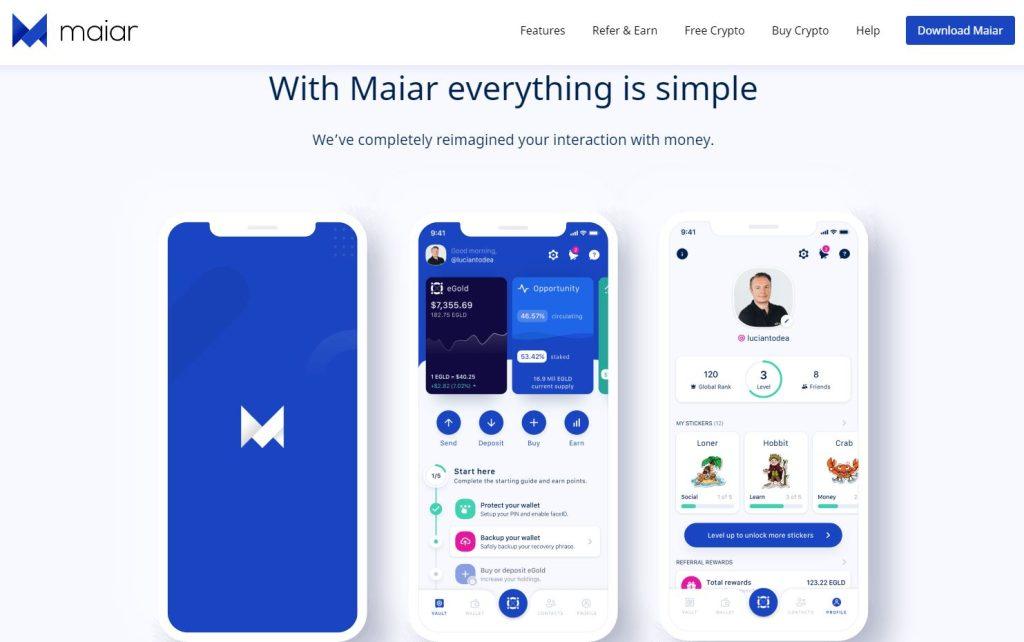 $10 Bonus von Maiar App