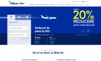 Blue Air | Bilete de avion cu 15% reducere pentru rezervarile de astazi