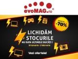 evoMAG | Campania Lichidam Stocurile cu reduceri de până la 70% (de ex. Masina de spalat rufe LG FH2J3TDN0, 8 kg, 1200 rpm, A+++, 1.269,00 Lei)