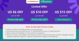 AliExpress | Săptămâna reducerilor de vară: $6 reducere la $50 cheltuiți, $10 la $100, $15 la $150
