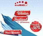 evoMAG | Sezonul de reduceri de iarna cu discounturi până la 50% – Winter Festival