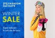 FASHION DAYS | Winter Sale cu reduceri semnificative la articolele de iarnă