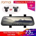 AliExpress | Dash camera auto integrată în oglindă de la 70 Mai, vedere fata + spate, HD, 23.7 cm, 130 grade vizibilitate, livrare din Polonia
